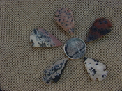 5 Specialty arrowheads reproduction multi colored points ke75