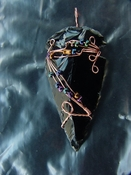 Reproduction arrowhead pendant make your own custom jewelry ap8