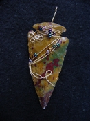 Reproduction arrowhead pendant make your own custom jewelry ap11